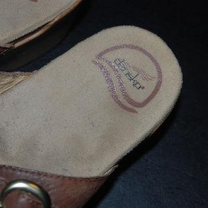 Dansko Shoes - Dansko Sophia Soft full grain clog sandals size 40
